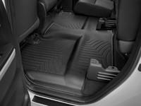 Коврики резиновые WeatherTech для Toyota Tundra 2012+ задние черные (440939)
