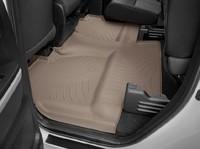 Коврики резиновые WeatherTech для Toyota Tundra 2012+ задние бежевые (450939)