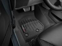 Коврики резиновые WeatherTech для Jeep Wrangler JK 2014+ передние черные (445731)