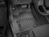 Коврики резиновые WeatherTech для Jeep Grand Cherokee 2016+ передние черные (449301)