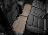 Коврики резиновые WeatherTech для Jeep Grand Cherokee 2016+ задние бежевые (453242)