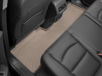 Коврики резиновые WeatherTech для Jeep Wrangler JK 2014+ задние бежевые (455733)