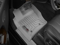 Коврики резиновые WeatherTech для Land Rover Range Rover Sport 2014+, Discovery 2017+ передние серые (464801)