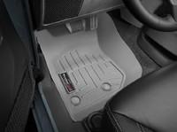 Коврики резиновые WeatherTech для Jeep Wrangler JK 2014+ передние серые (465731)
