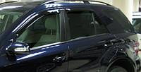 Ветровики на окна (тонированные) EGR MMERCEDES M-class 05-11 # 92454008B