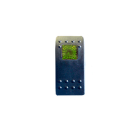 Тумблер переключатель вкл/выкл - индикатор зеленый (tum-vnd-green-id)