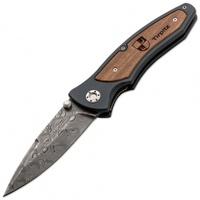 "Нож Boker ""Tirpitz Damast"" Клинок 9,9 см. Скл. (4001002)"