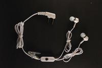 Гарнитура N 43 для радиостанции с вакуумным наушником на 2-уха, цвет белый