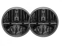 Фара головного света RIGID 7″ (с подогревом), комплект 2 шт. (DOT сертификация)