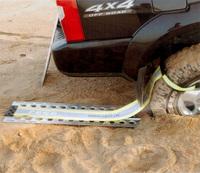 Алюминиевый сэнд трак + стропа с креплением для извлечения (TLV1073)