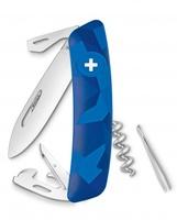 Нож Swiza D03, голубой (4007342)