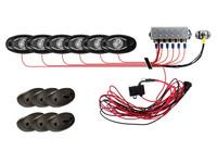 Комплект оптики RIGID Rock Light (6 модулей подсветки + блок управления)