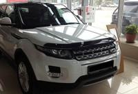 Дефлектор капота Land Rover Discovery Sport 2015-19, черный EGR (021151)