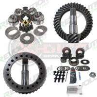 Комплект Главных Пар JK Rubicon (D44/D44) 4.56 gear package front & rear with master overhaul kits (Rev-JK-Rub-456 RG)
