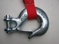 Крюк для лебедок со стальным или синтетическим тросом, 13000LBS - 5,5 т
