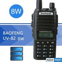 Рация Baofeng UV-82 8 Ватт + гарнитура