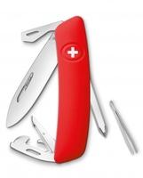 Нож Swiza D04, красный (4007324)