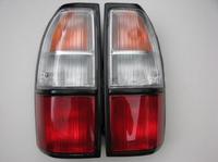 Задний фонарь для Toyota Land Cruiser J90/J95 Prado (бело-красные)(1996-2002)