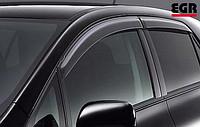 Ветровики на окна (тонированные) EGR MAZDA 6 SEDAN 08-12 # 92450025B