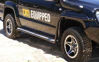 Боковые подножки силовые TJM VW Amarok (735sbssa83v)