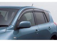 Ветровики на окна (тонированные) EGR NISSAN QASHQAI +2 2008+ #92463036