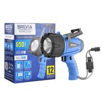 Фонарь для СТО BREVIA LED 500М, 10W LED 650lm, 4400mAh, microUSB (11600)