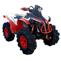 Расширители арок PANZERBOX ATV Can Am Renegade G2 (2012+)