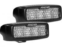 Светодиодная фара RIGID SR-Q Серия PRO (6 светодиодов, рабочий, дугообразное крепление)