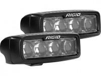 Светодиодная фара RIGID SR-Q Серия PRO (4 светодиода, ближний)