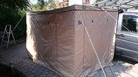 Комплект стенок для веерной маркизы с прямым углом COLUMBUS 2,5 м