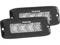 Светодиодная фара RIGID SR-Q Серия PRO (6 светодиодов, рабочий, врезная установка)