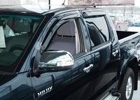 Ветровики на окна (тонированные) EGR TOYOTA HILUX 06-15 DS # 92492047SB