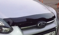 Дефлектор капота (тонированный с лого) EGR FORD FOCUS 11+ # SG4940DSL