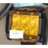 Светофильтр 18  W желтый квадратный (2978)