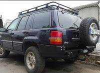 Задний бампер для Jeep Grand Cherokee ZJ (1993-1999) (8712)