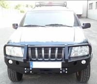 Передний бампер для Jeep Grand Cherokee WJ (1999-2004) с кенгурятником (9631)