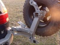 Крепление запасного колеса для Pajero SPORT (1996-2000)