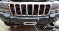 Площадка под лебедку для штатного бампера Jeep Grand Cherokee WJ (1999-2004) (9750)