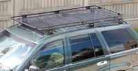 Багажник на крышу для Jeep Cherokee WJ с сеткой (1999-2004) (8539)