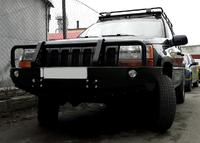 Передний бампер для Jeep Grand Cheeroke ZJ 1993-1999 с кенгурятником (9646)
