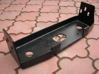 Плита под лебедку на Nissan Patrol Y60 под оригинальный бампер (9764)