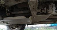 Защита коробки передач и редуктора для Toyota Hilux (2005-2011) алюминиевая (8822)