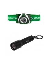 Подарочный набор фонарей Led Lenser SEO3 Green+K3 (7001862)