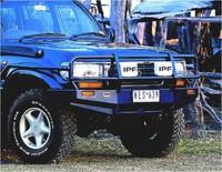 Передний бампер Toyota Land Cruiser 80 W/OUT FLARES 10/9 (3411040)