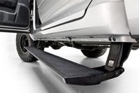 Выдвижные электрические пороги Ford F150 2017+, с логотипом F150 (ERB-FORD-F150-17-logo)