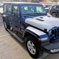 Выдвижные электрические пороги Jeep Wrangler 4 doors 2011+ (ERB-JEEP-JK-14)