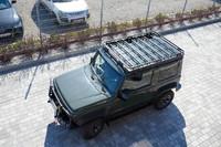 Багажник на крышу для Suzuki Jimny IV с 2018 (1.5 бензин) с сеткой (36309)