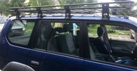 Багажник на крышу для Toyota LC95 без сетки (8561)