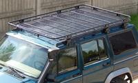 Багажник на крышу для Jeep Cherokee XJ с сеткой (1984-2001) (8541)