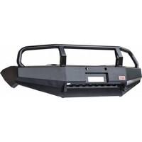 Бампер РИФ передний Mitsubishi L200 New/Pajero Sport с кенгурятником (RIFTRT-10300)